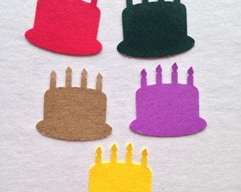 200 Birthday cake party confetti