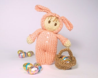 Easter Bunny Bitsy Doll