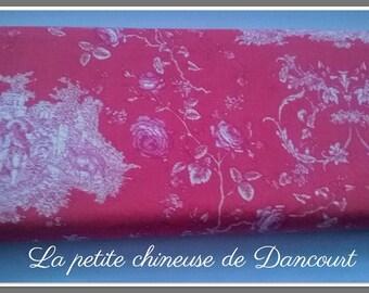 Fabrics of Mas D'ousvan Princess Red
