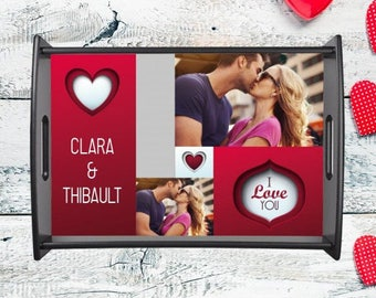 Top personalized with your photo and text personalized gift for lover