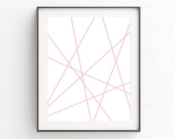 Minimalist Wall Art, Pink Wall Art, Printable Artwork, Printable Poster, Scandinavian Poster, Minimalist Art, Wall Art, Printable Art Prints