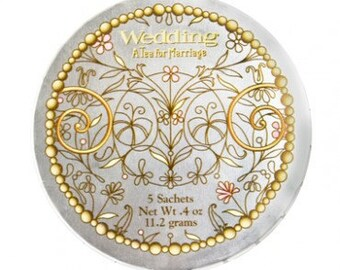 Wedding Tea - Tins for Wedding or Wedding Shower Favors (custom available)