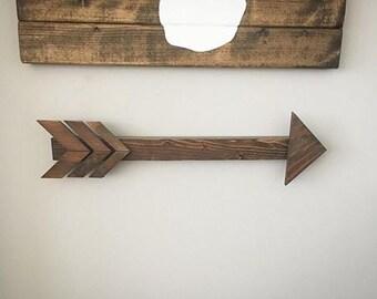 Arrrow Wall Decor, Nursery Decor, Home Decor, Rustic Decor, Boho Decor, Wood Arrow, Woodlands Decor, Wood Decor, Arrows, Wooden Arrows