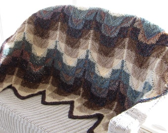 SPECIALLY , ,  PRICED, , , , , , , , ,  DARLENE' S  Southwest Ripped Afghan Pattern