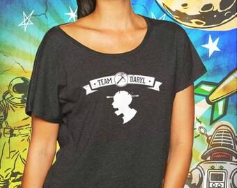 The Walking Dead / Team Daryl / Vintage Black Women's Dolman