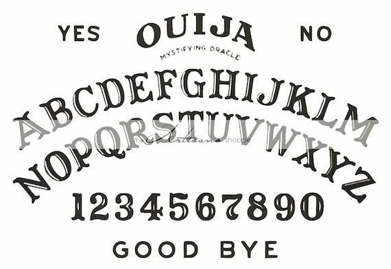 Satisfactory image with regard to printable ouija boards