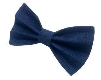 Dog Bow Tie - Denim