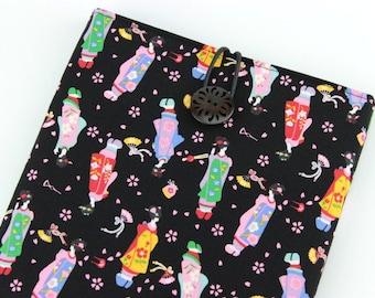 Kobo Touch, Kindle Paperwhite, iPad Mini Sleeve Cover Case, Maiko Black