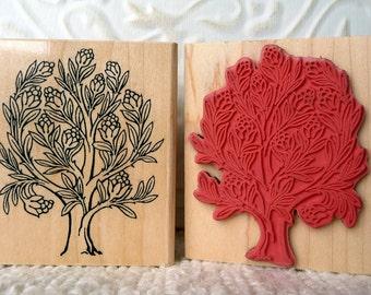 Tree of Life rubber stamp from oldislandstamps