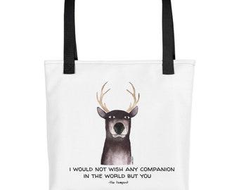 "Shakesdeer ""Companion"" tote bag"