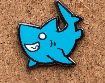 Cute Shark Enamel Pin