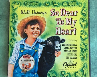 So Dear to My Heart 45 RPM Record Collection / Vintage Disney