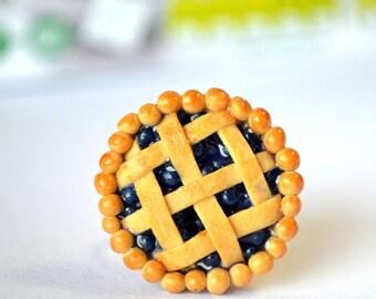Blueberry pie ring
