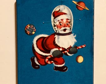 Spacey Santa Christmas Ornament