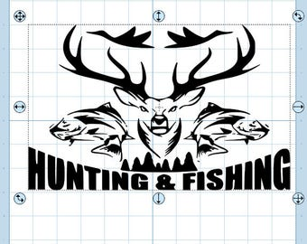 Hunting and Fishing svg