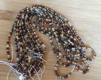 Brown Seed Bead Assortment