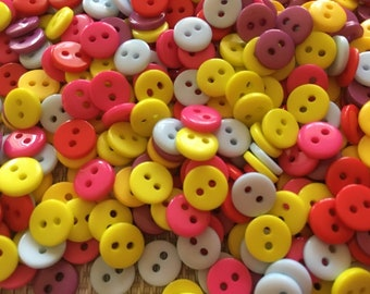 Doll Buttons Set of 50 Buttons for Sewing Crochet Knitting Scrapbooking Buttons for Baby