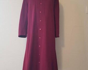 Maroon robe, priest, choir Catholic, 50