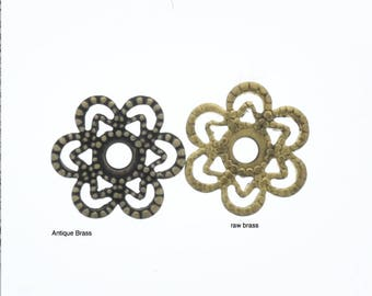 Filigree 13mm setting , Made in USA, sold by 6 each  03650