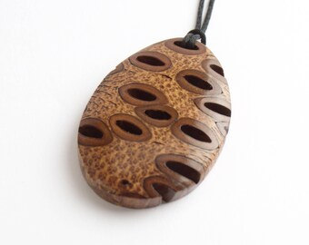 Wooden necklace etsy quick view aloadofball Gallery