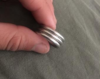 Hand made metal ring