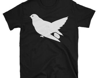 Metal Gear Online Revival MGO MGO2R Cuckoo Emblem Animal Rank Unisex T-shirt