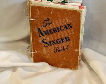 Altered Book Journal The American Singer, Smash Book, Art Journal, Junk Journal, Songwriting Journal, Sketchbook, Music Journal