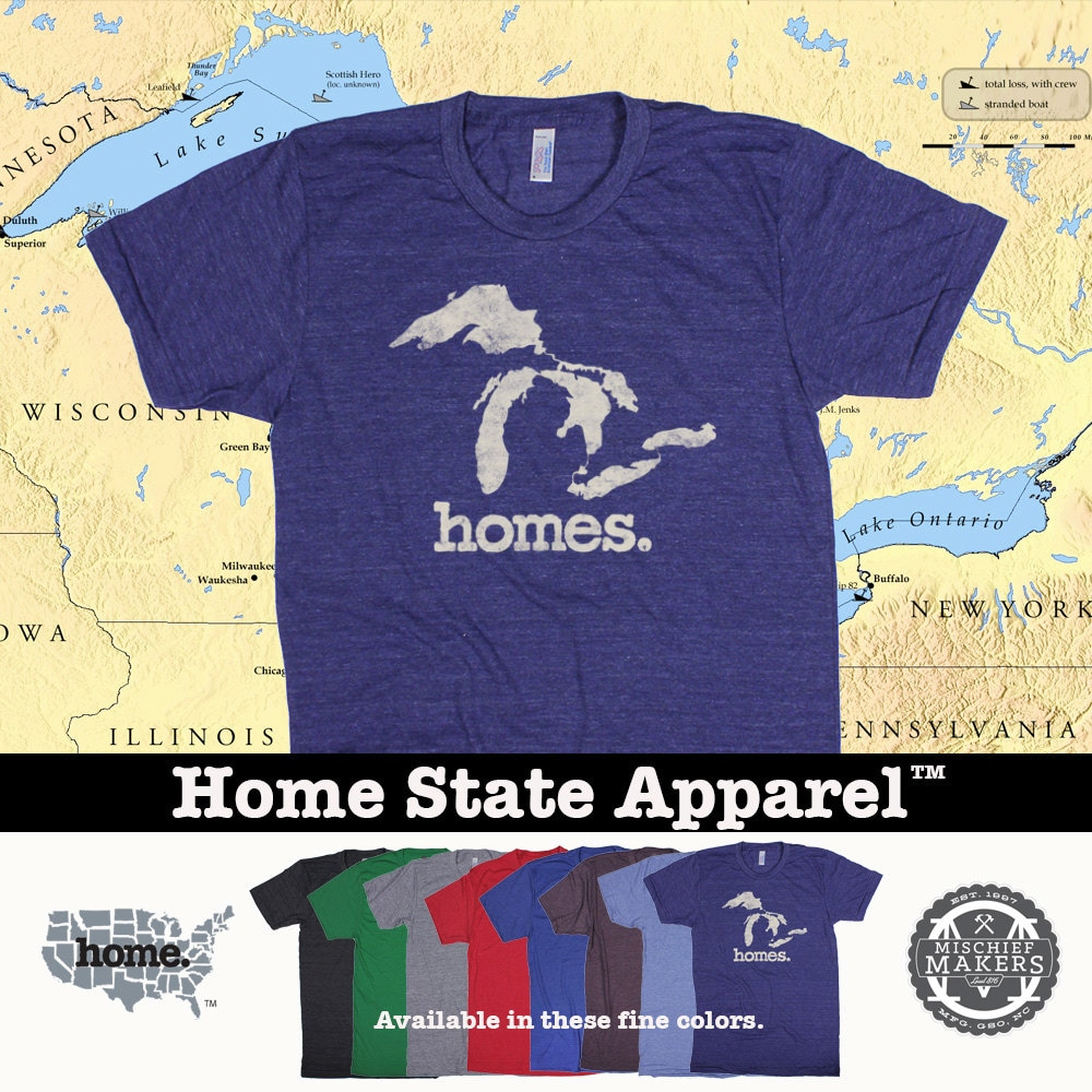 Homes great lakes shirt labzada t shirt greetings from michigan the great lake state image collections m4hsunfo