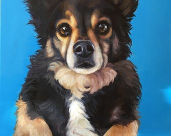 Custom Pet Portrait 16 x 20