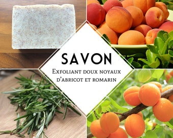 Exfoliating apricot kernel and Rosemary