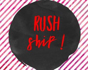 Rush ship w tracking 5-7 days