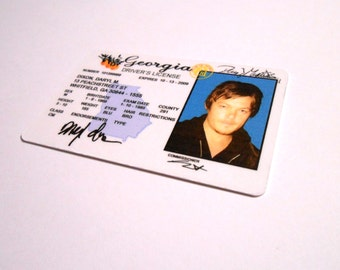 The Walking Dead - DARYL DIXON - Norman Reedus - ID Card / License