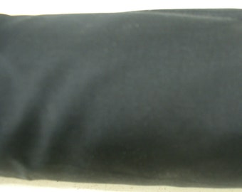 Black Plain Poly Cotton Fabric Table Covers Crafts Runner Dress Lining Sewing Dress Fabric - Sold By The Metre