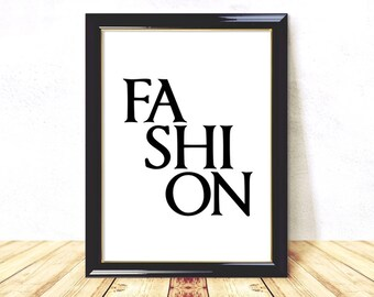 Fashion Poster, Printable Fashion, Minimalist Art, Fashion Wall Art, Fashion Wall Decor, Fashion Prints, Fashion Art Print, Instant Download