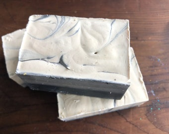 Charcoal and Cedar Stout Soap