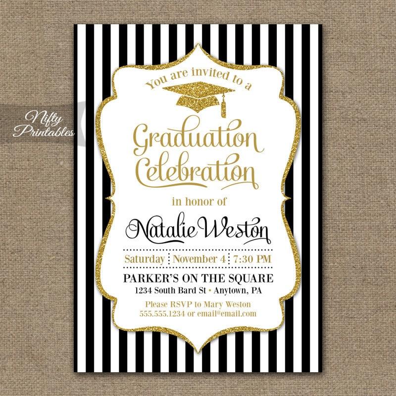 graduation invitations printable