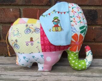 Soft plushie stuffed elephant, toy, stuffed animal