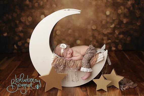 Moon prop moon photo prop newborn photography prop baby