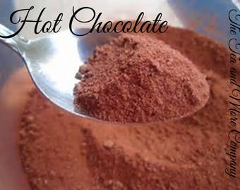 Hot Chocolate, Frozen Hot Chocolate, Sweetened Cocoa Powder
