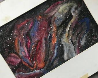 Galaxy Nebula Painting
