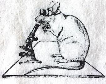 Lab Rat Microscope Patch