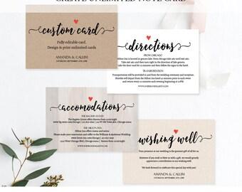 wedding insert
