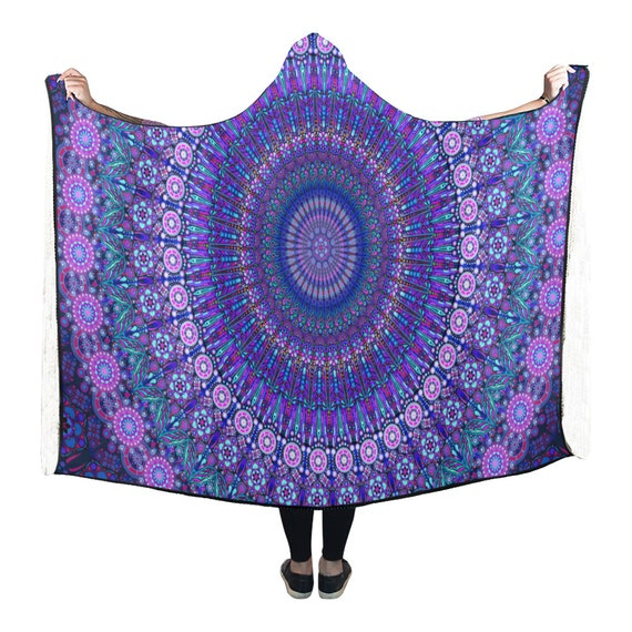 Art Clothing Sacred Yoga Geometry Gift Blanket Clothing Gifts Spiritual Hooded Mindfulness Spirituality Shop Gifts Meditation Visionary UwRqBg
