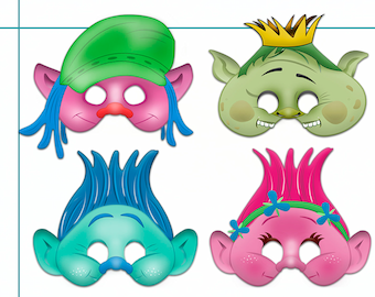 Geeky image regarding trolls printable