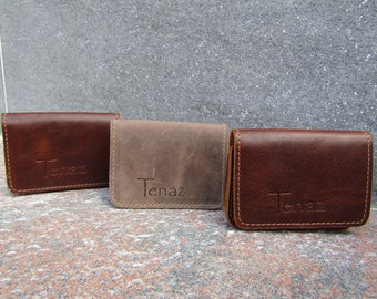 Genuine Leather Cardholder by Tenaz