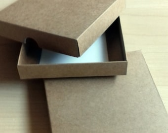10Pcs Kraft paper packaging box, Gift Boxes, Paper box, Wedding Gift Box