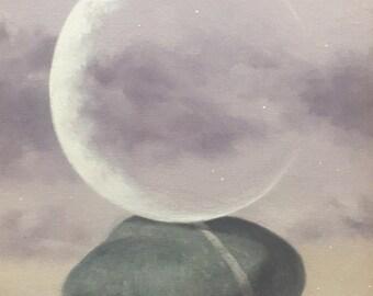 "Fine Art Painting 12"" x 24"" Original Oil Painting by Byori Hwang"