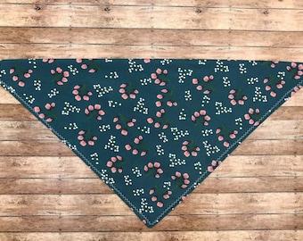 Dog Bandanas, floral print, tie on bandana, AspenandPiper