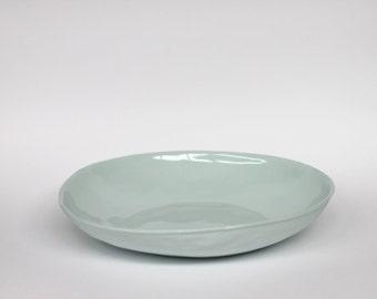 organic pasta bowl - porcelain (glacier colour)
