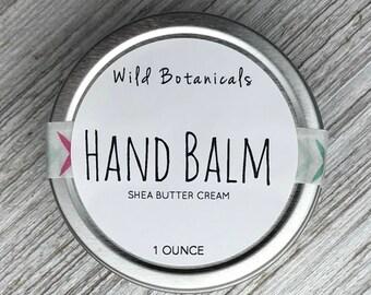 Hand Balm, Shea Butter Cream, Vegan